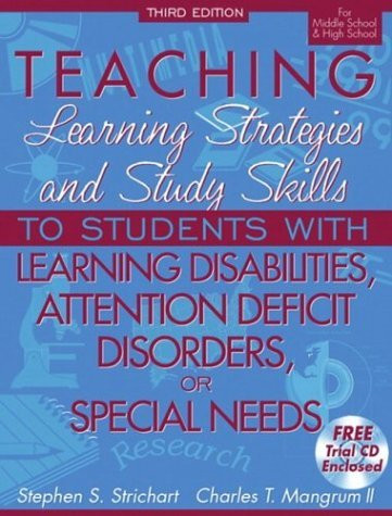 Teaching Learning Strategies And Study Skills To Students With Learning