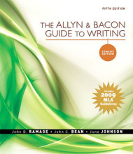 Allyn & Bacon Guide To Writing Concise Edition by John D Ramage