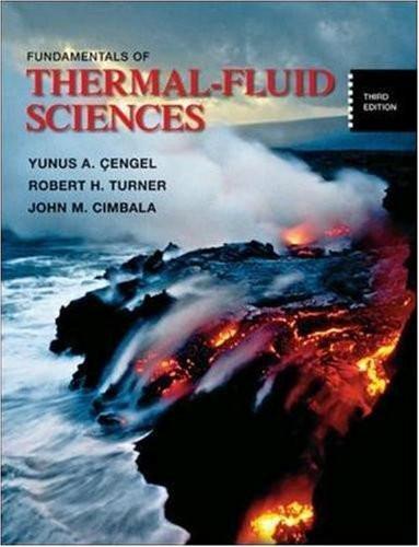 Fundamentals Of Thermal-Fluid Sciences