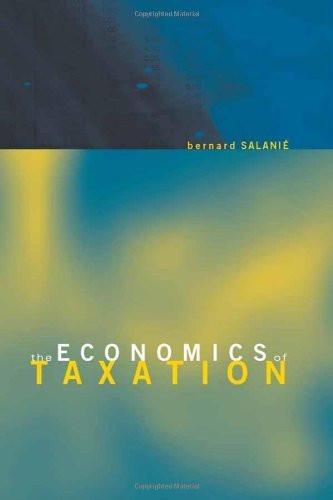 Economics Of Taxation