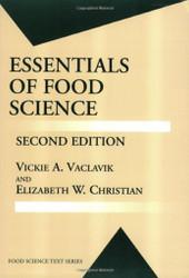 Essentials Of Food Science by Vickie Vaclavik