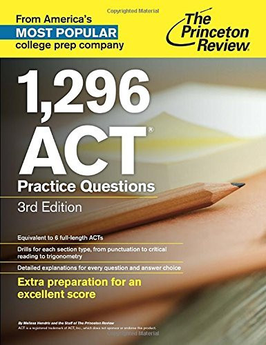 1 296 Act Practice Questions