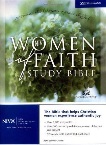 Niv Women Of Faith Study Bible
