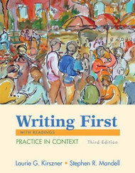 Writing First by Laurie Kirszner