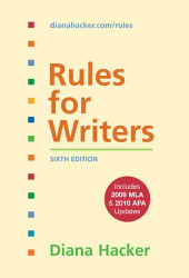 Rules For Writers With Tabs With 2009 Mla And 2010 S