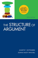The Structure Of Argument by Annette Rottenberg