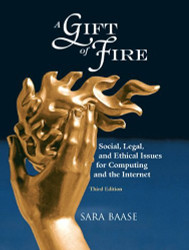 A Gift of Fire by Sara Baase
