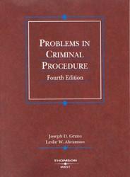Problems In Criminal Procedure