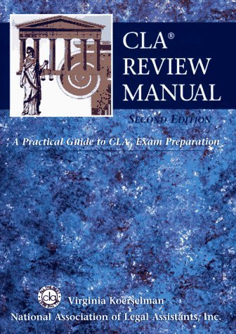 Cla Review Manual