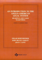 Introduction To The Anglo-American Legal System