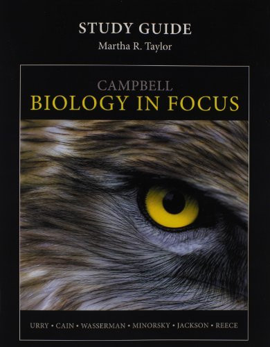 Study Guide For Campbell Biology In Focus