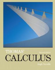 Thomas' Calculus Single Variable