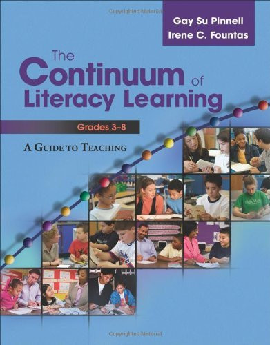 Continuum Of Literacy Learning Grades 3-8