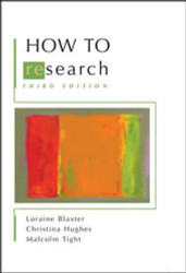 How to Research -  Loraine Blaxter