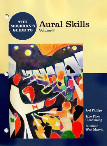 Musician's Guide To Aural Skills Volume 2