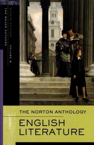 Norton Anthology Of English Literature Volume B