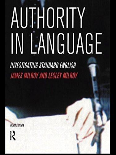 Authority In Language