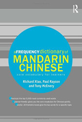 Frequency Dictionary Of Mandarin Chinese