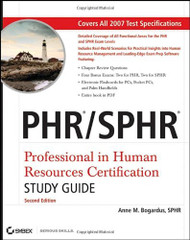 PHR & SPHR Professional in Human Resources Study Guide  by Sandra Reed