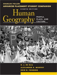Advanced Placement Student Companion To Accompany Human Geography
