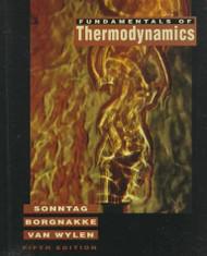 Fundamentals of Thermodynamics by Borgnakke