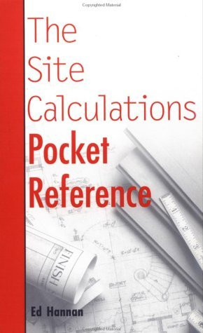 Site Calculations Pocket Reference
