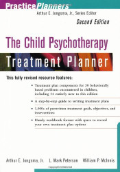 The Child Psychotherapy Treatment Planner by Arthur Jongsma