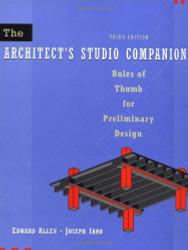 The Architect's Studio Companion by Edward Allen