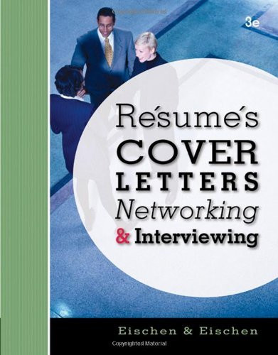 Resumes Cover-Letters Networking And Interviewing