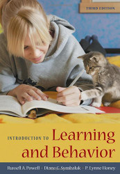 Introduction To Learning And Behavior Russell A Powell