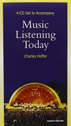 4 Cd-Rom Set For Hoffer's Music Listening Today
