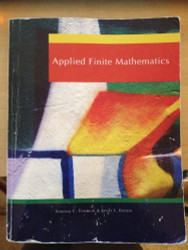 Applied Finite Mathematics