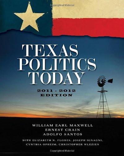 Texas Politics Today 2011-