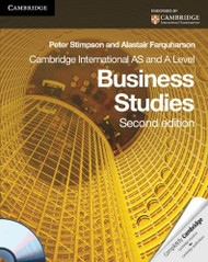Cambridge International As And A Level Business Studies Student's Coursebook
