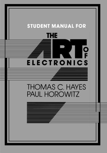 art of electronics solution manual