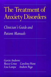 Treatment Of Anxiety Disorders