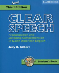 Clear Speech Student's Book With Audio Cd