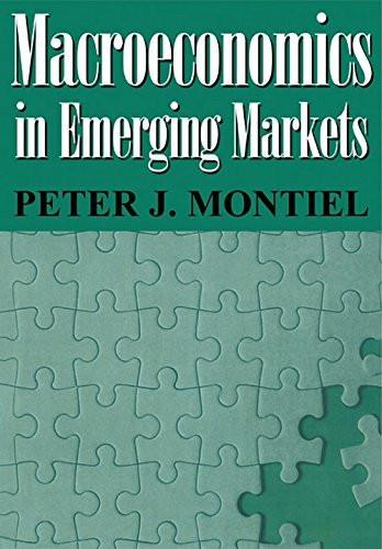 Macroeconomics In Emerging Markets