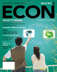 ECON Macroeconomics  by William A Mceachern