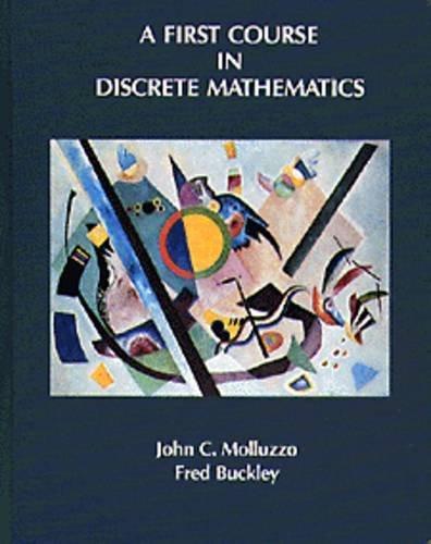 First Course In Discrete Mathematics