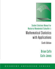 Student Solution Manual For Mathematical Statistics With Application