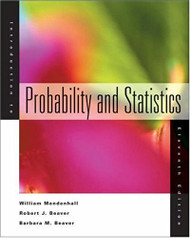 Introduction To Probability and Statistics - William Mendenhall