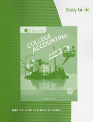 Study Guide With Working Papers Chapters 1-9 For Heintz/Parry's College