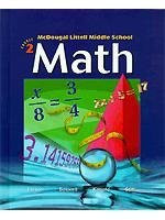 Mcdougal Littell Middle School Math Course 2 Teacher's Edition