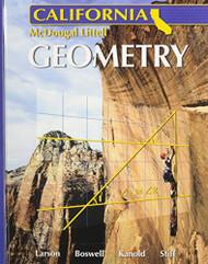Mcdougal Larson Geometry California