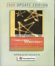 The Challenge Of Democracy Brief Edition by Kenneth Janda