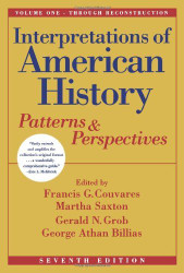 Interpretations Of American History Volume 1