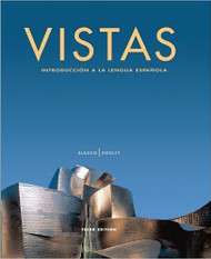 Vistas Introduccion A La Lengua Espanola by Jose A Blanco