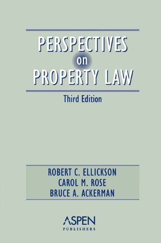 Perspectives On Property Law