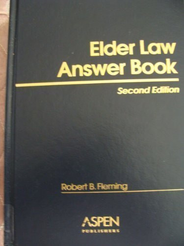 Elder Law Answer Book